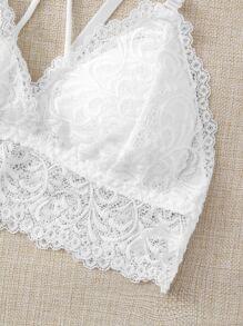 2pack Floral Lace Crisscross Bra Set