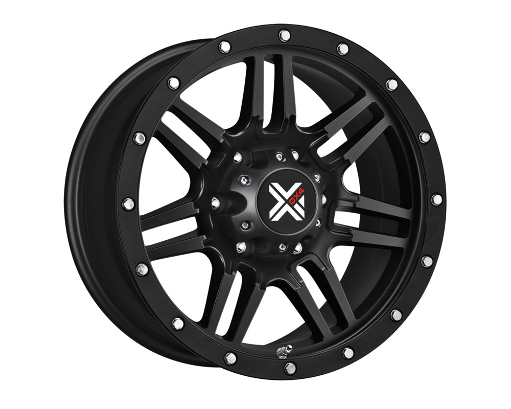DX4 7S Flat Black Full Painted Wheel 20x9 8x165.1 18