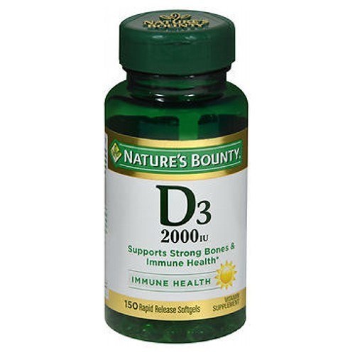 Nature's Bounty Super Strength D3 24 X 150 Softgels by Nature's Bounty