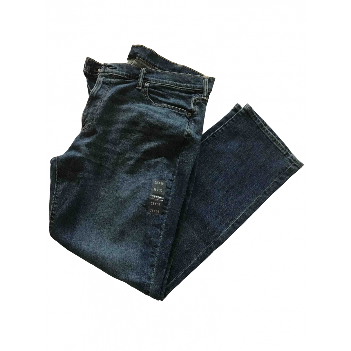 Abercrombie & Fitch \N Blue Jeans for Men 38 FR