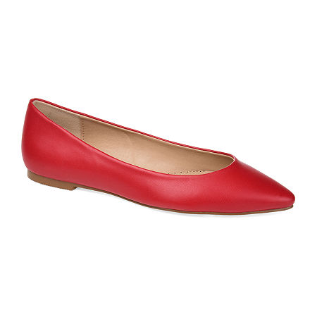 Journee Collection Womens Moana Slip-On Shoe, 11 Medium, Red