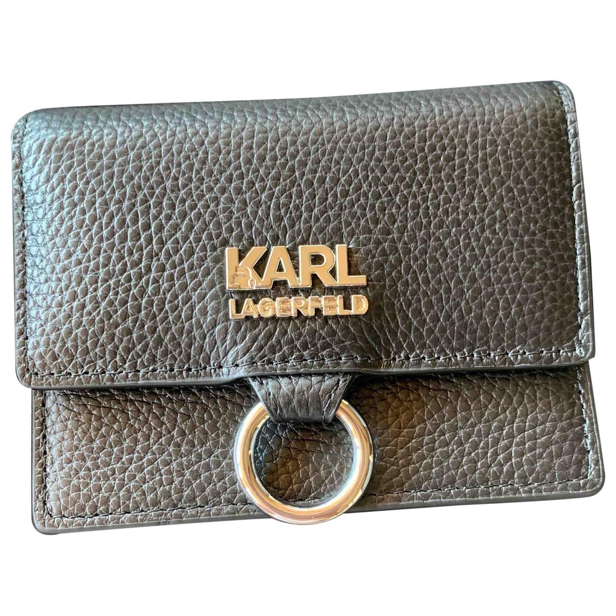 Karl \N Black wallet for Women \N