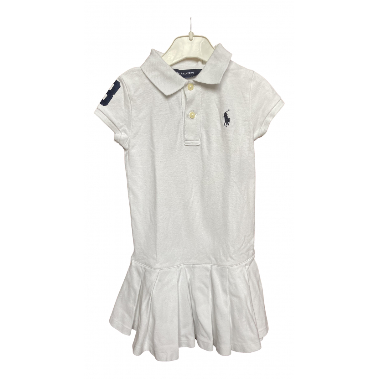 Ralph Lauren \N White Cotton dress for Kids 4 years - up to 102cm FR