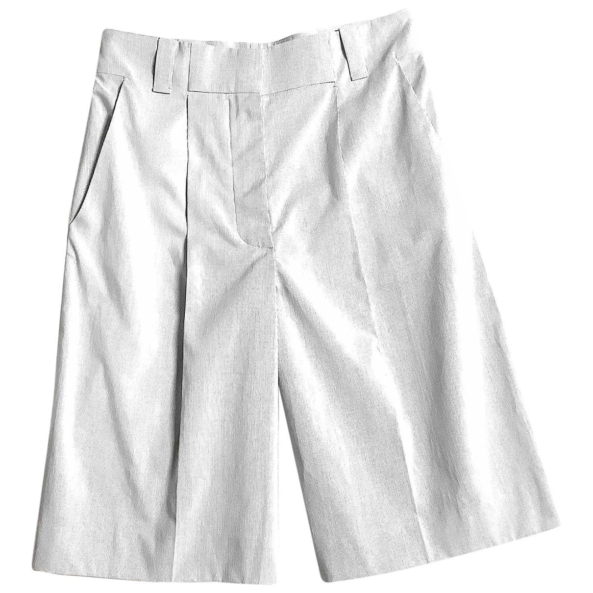 Chloé \N Multicolour Cotton Shorts for Women 40 FR