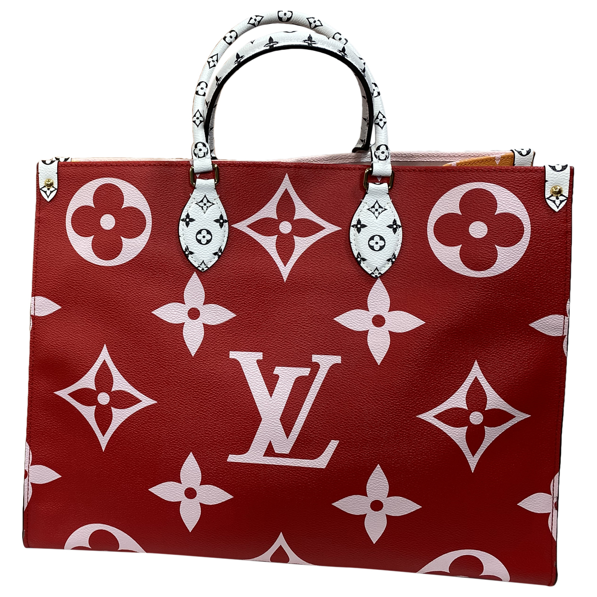 Louis Vuitton Onthego Red Cloth handbag for Women \N