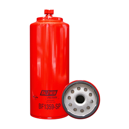 Baldwin BF1359-SP - Fuel/Water Separator Spin On With Drain And Sen...