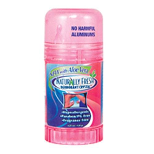 Crystal Deodorant FEMALE, 4.25 OZ by Naturally Fresh