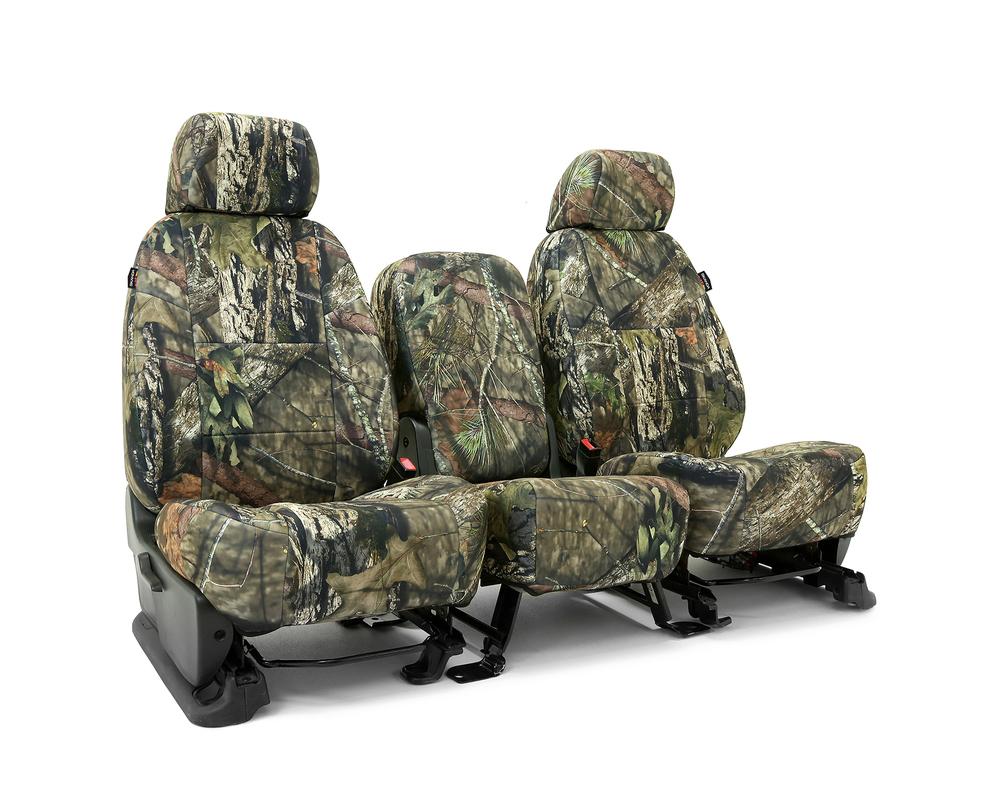 Coverking CSCMO10DG7036 Skanda Custom Seat Covers 1 Row Neosupreme Mossy Oak Break Up Country Solid (PMS 2718 C) Rear Dodge Ram 2500 | 3500 2003-2005