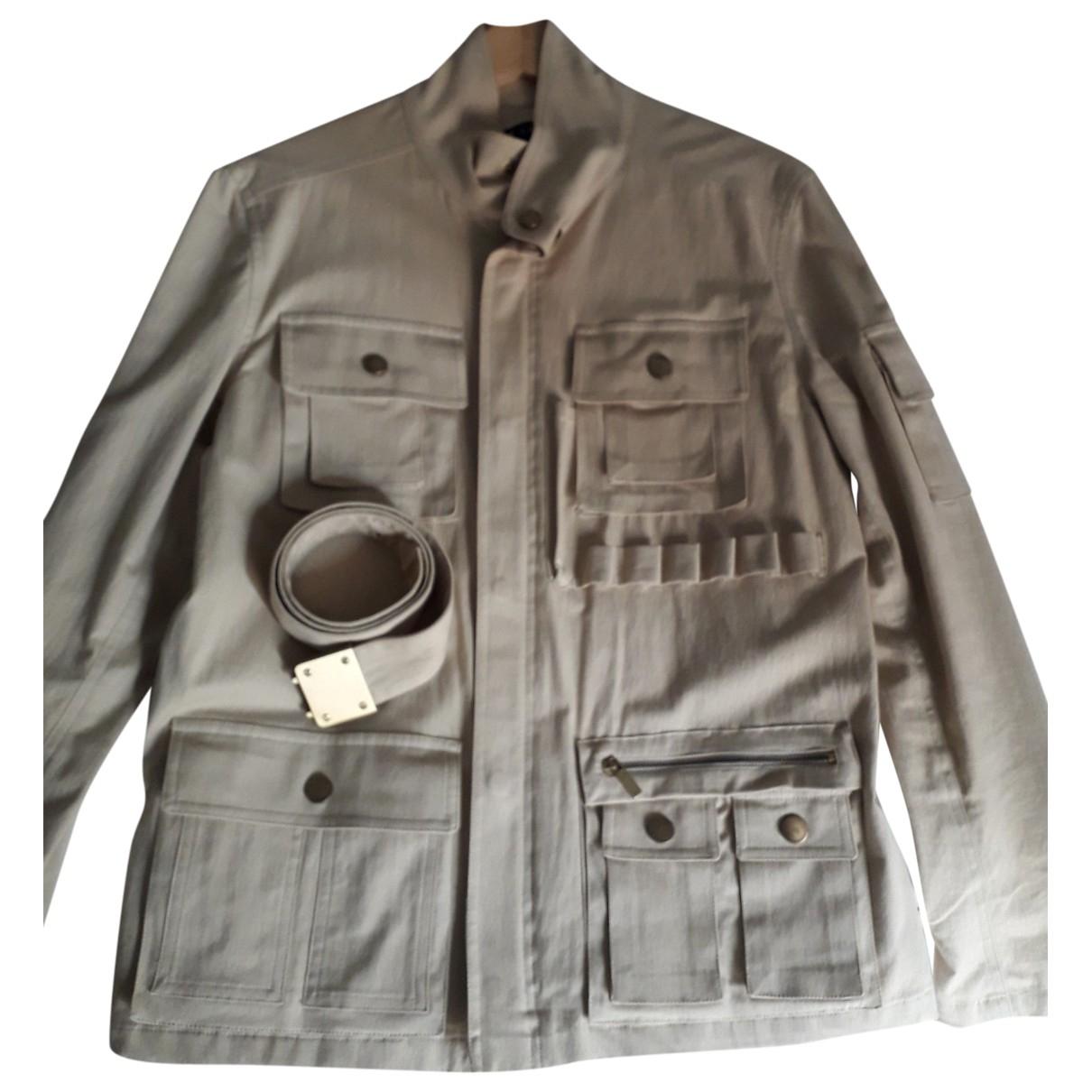 Ralph Lauren \N Beige Cotton jacket for Women 10 US