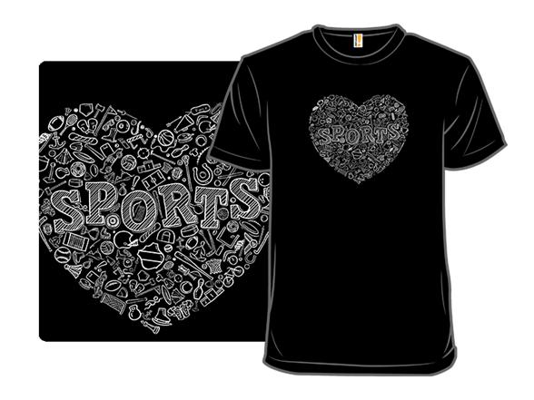 Love Sports T Shirt