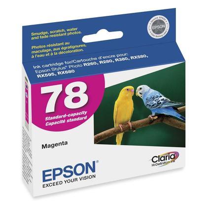 Epson 78 T078320 cartouche d'encre originale magenta
