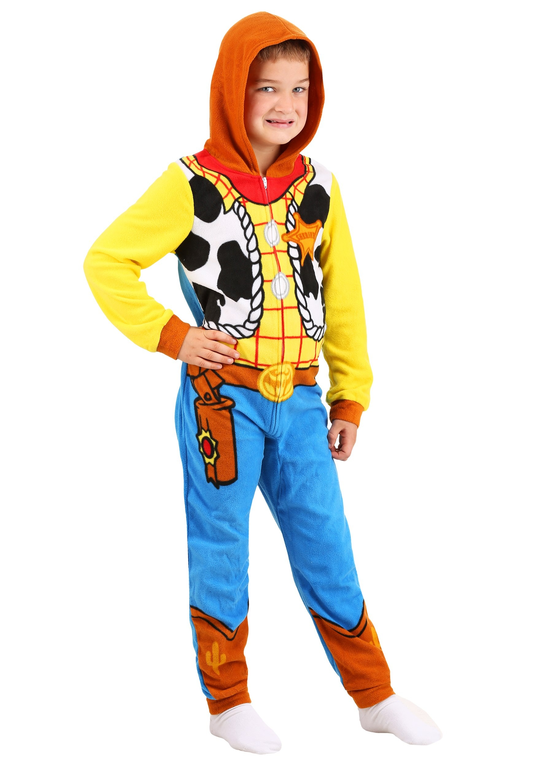 Boys Toy Story Woody Union Suit