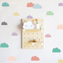 Kids Cloud Print Wall Sticker