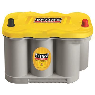 Optima Batteries Yellow Top, Group D27F, 830 CCA, Top Post - 8037-127
