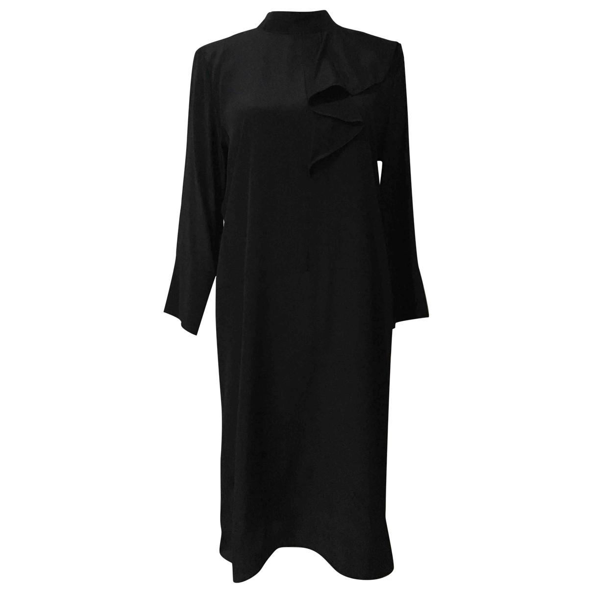 Marni \N Blue Silk dress for Women 38 IT
