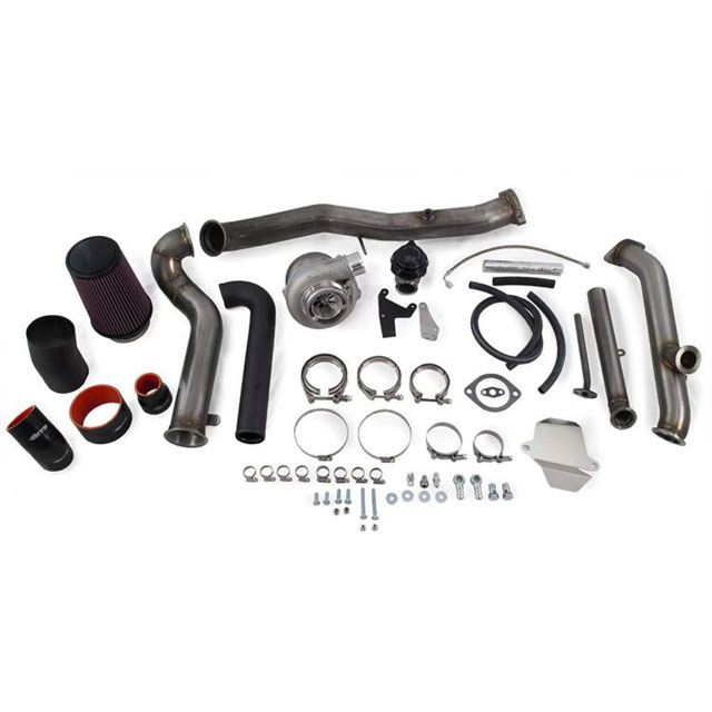 ETS 04-07 Subaru STI 2-bolt Rotated Turbo Kit Rotated Turbo Kit Speed Density 2-bolt PT5862 BB