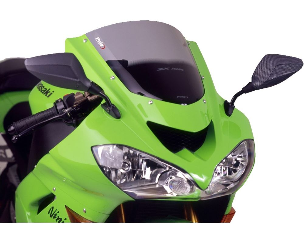 Puig 1657W Racing Windscreen - Clear Kawasaki ZX-10R 2004
