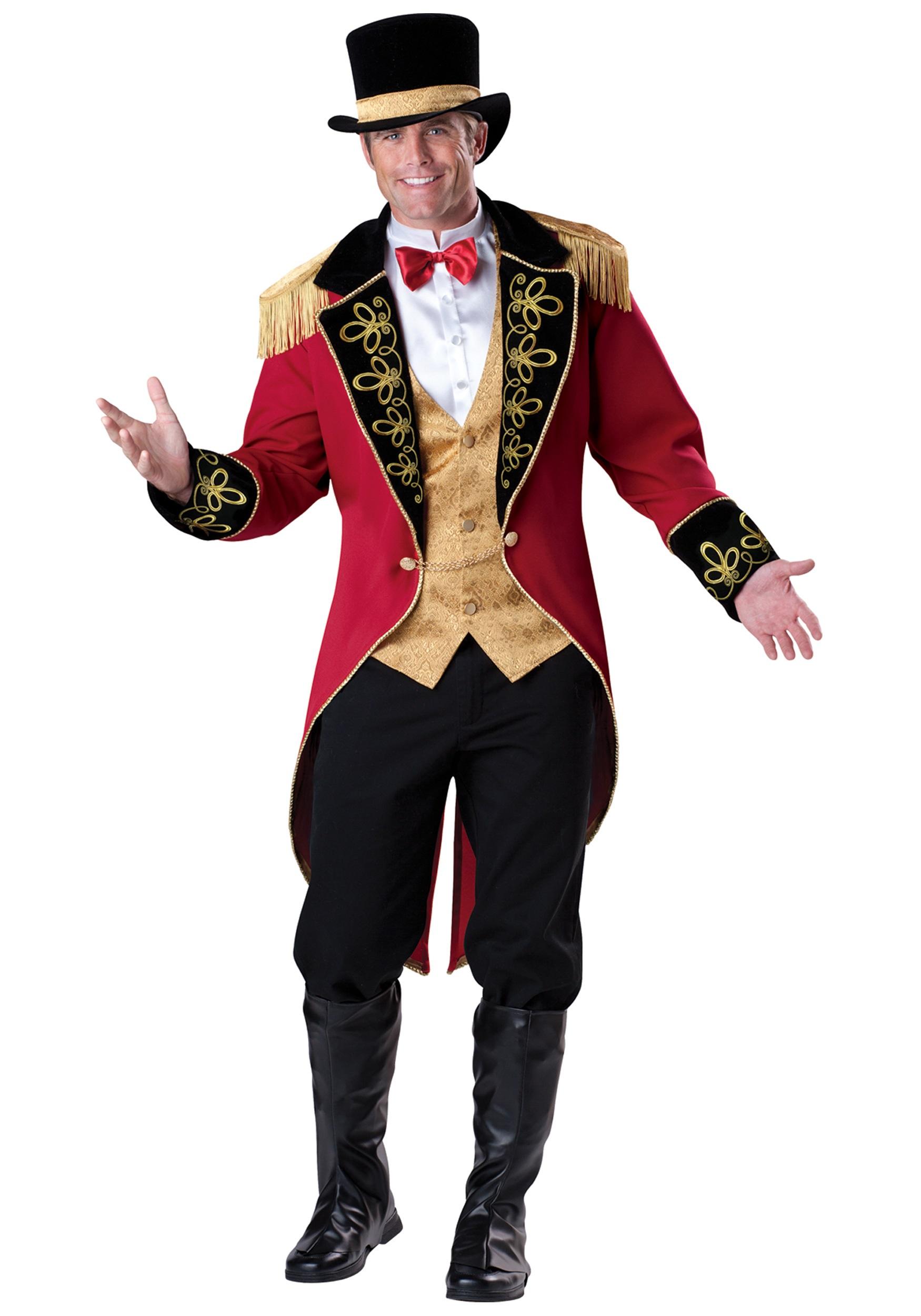 Elite Ringmaster Costume for Men
