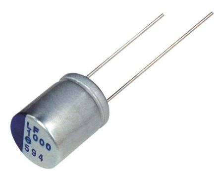 Nichicon 270μF Polymer Capacitor 10V dc, Through Hole - PLF1A271MDO1 (5)