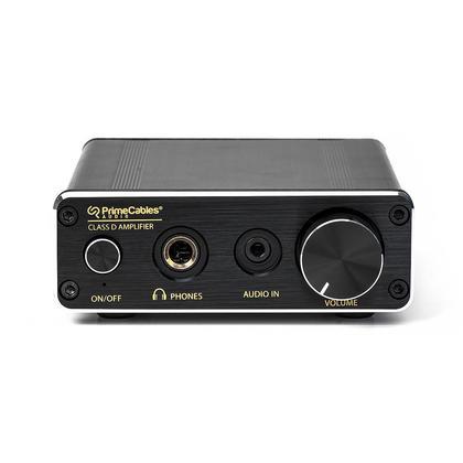 Mini Amplificateur 30-Watt 2 Canaux Hifi Stéréo Digital - Noire - PrimeCables®