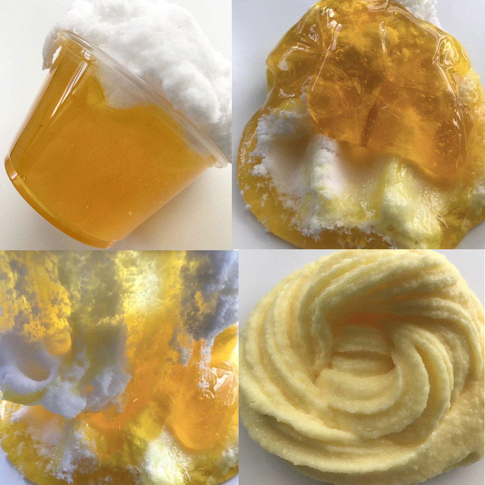 Beer Crystal Brushed Slime DIY Gift Toy Stress Reliever