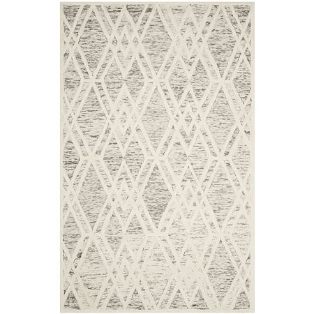 Safavieh Elinor Geometric Hand Tufted Wool Rug, One Size , Brown