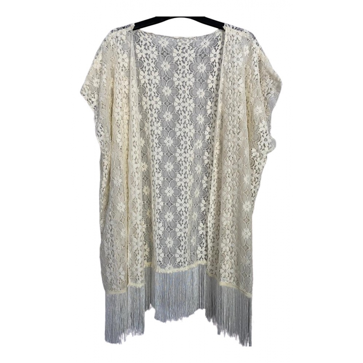 Non Signé / Unsigned \N White  top for Women One Size FR