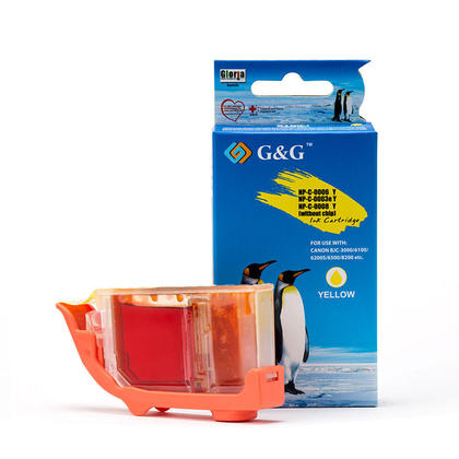 Compatible Canon BCI-6Y Yellow Ink Cartridge - G&G