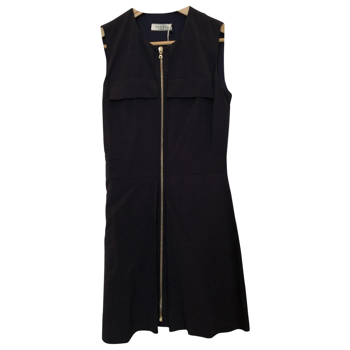 Sandro \N Navy dress for Women 38 FR