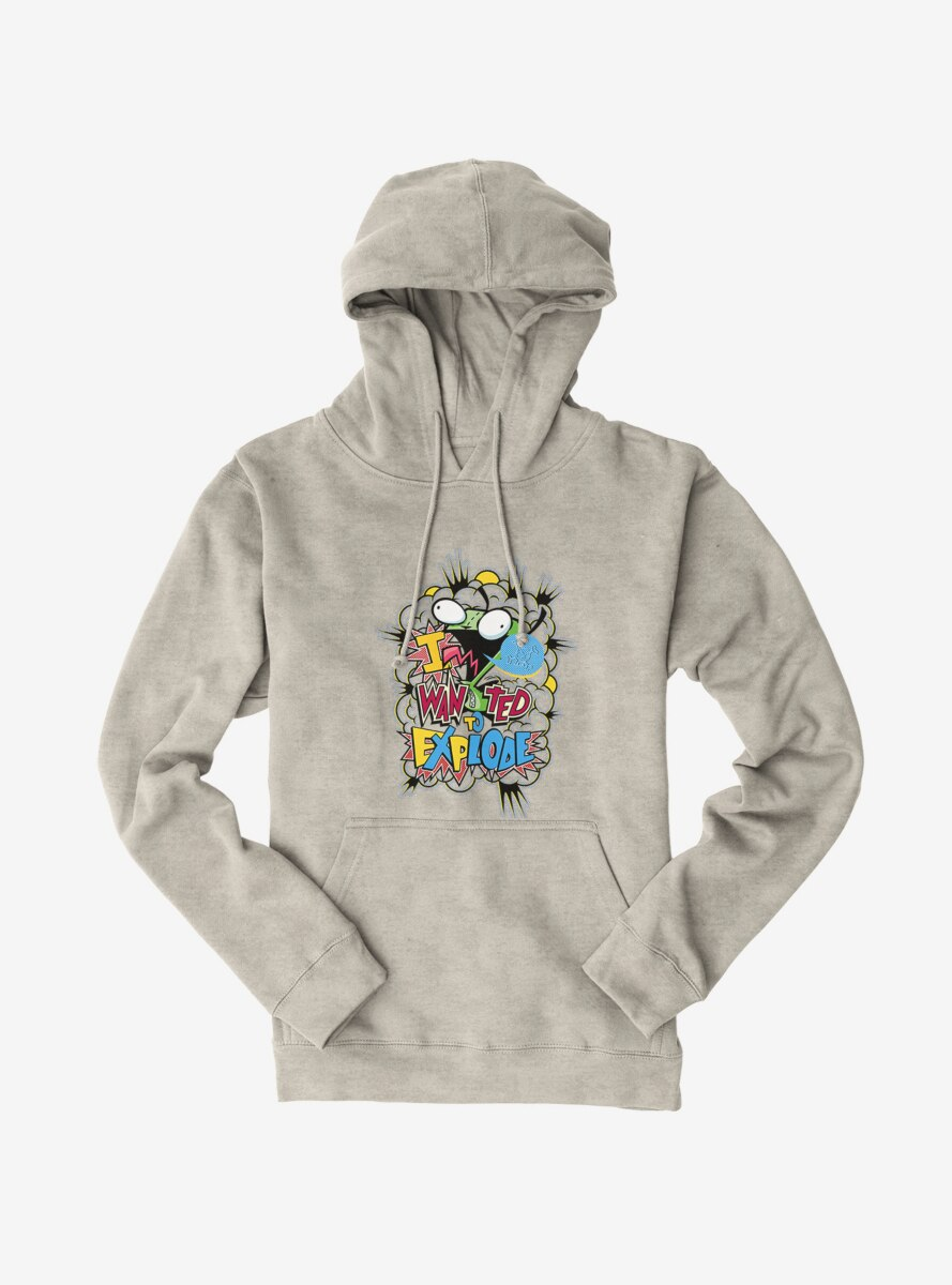 Invader Zim I Wanted To Explode Hoodie