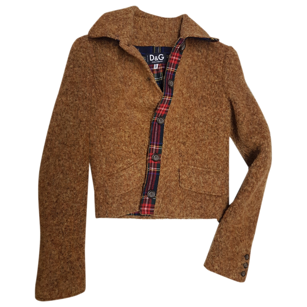 D&g \N Brown Cotton jacket for Women 34 FR