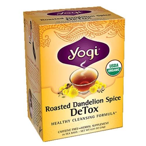 Roasted Dandelion Spice DeTox 16 Bags by Yogi