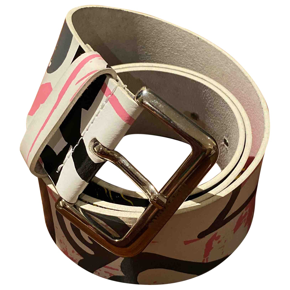 Moschino Cheap And Chic \N Multicolour Leather belt for Women 75 cm