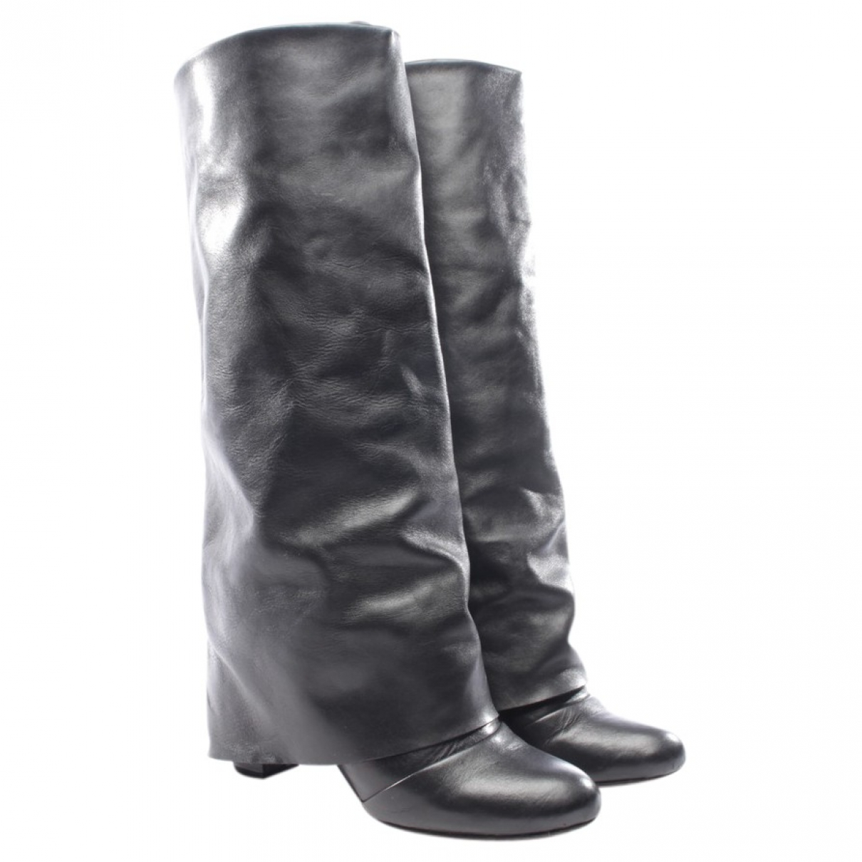See By Chloé \N Black Leather Boots for Women 36 EU
