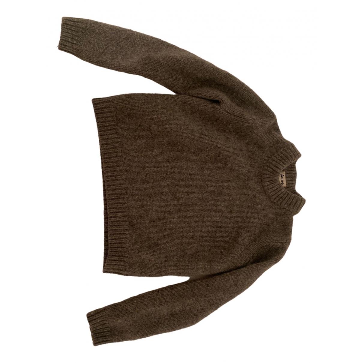 Acne Studios \N Grey Wool Knitwear for Women 4 UK