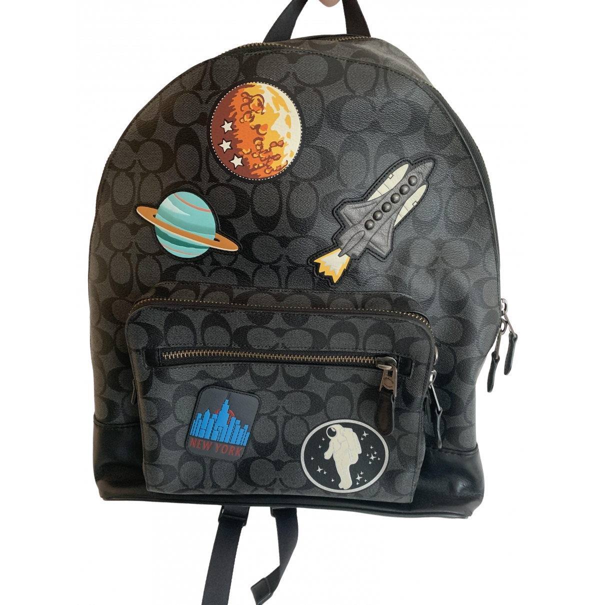 Coach \N Black Cloth bag for Men \N
