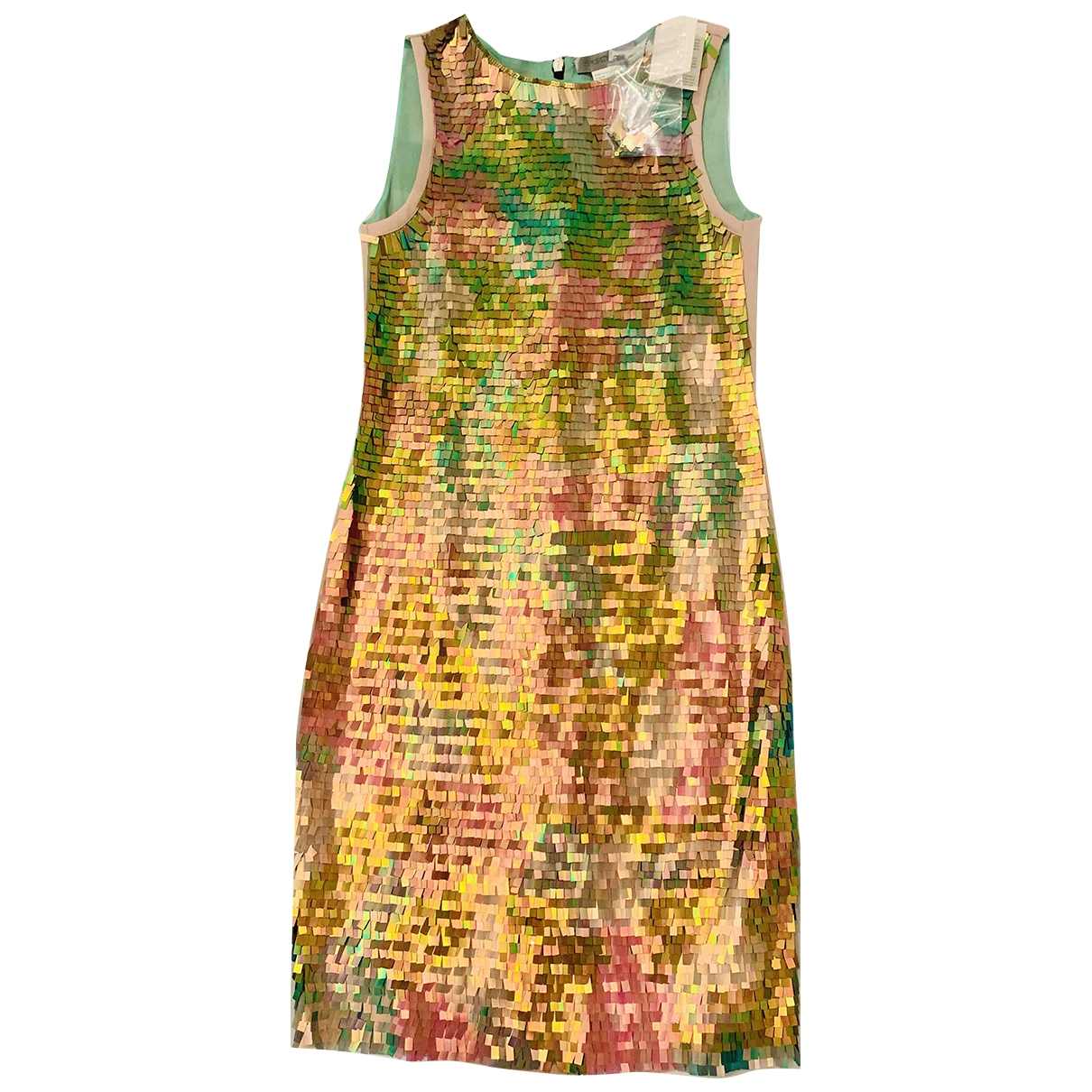 Sport Max \N Multicolour Glitter dress for Women 8 UK