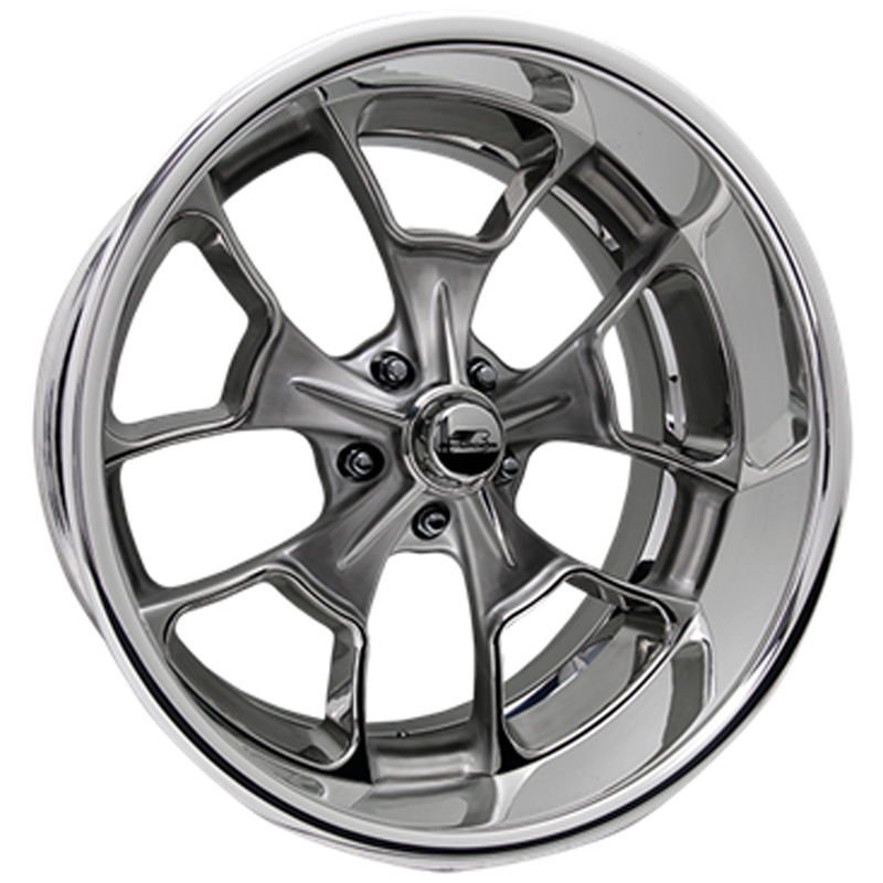 Billet Specialties VSL66S980Custom Reaper Smoke Clear Coat 19x8 Wheel