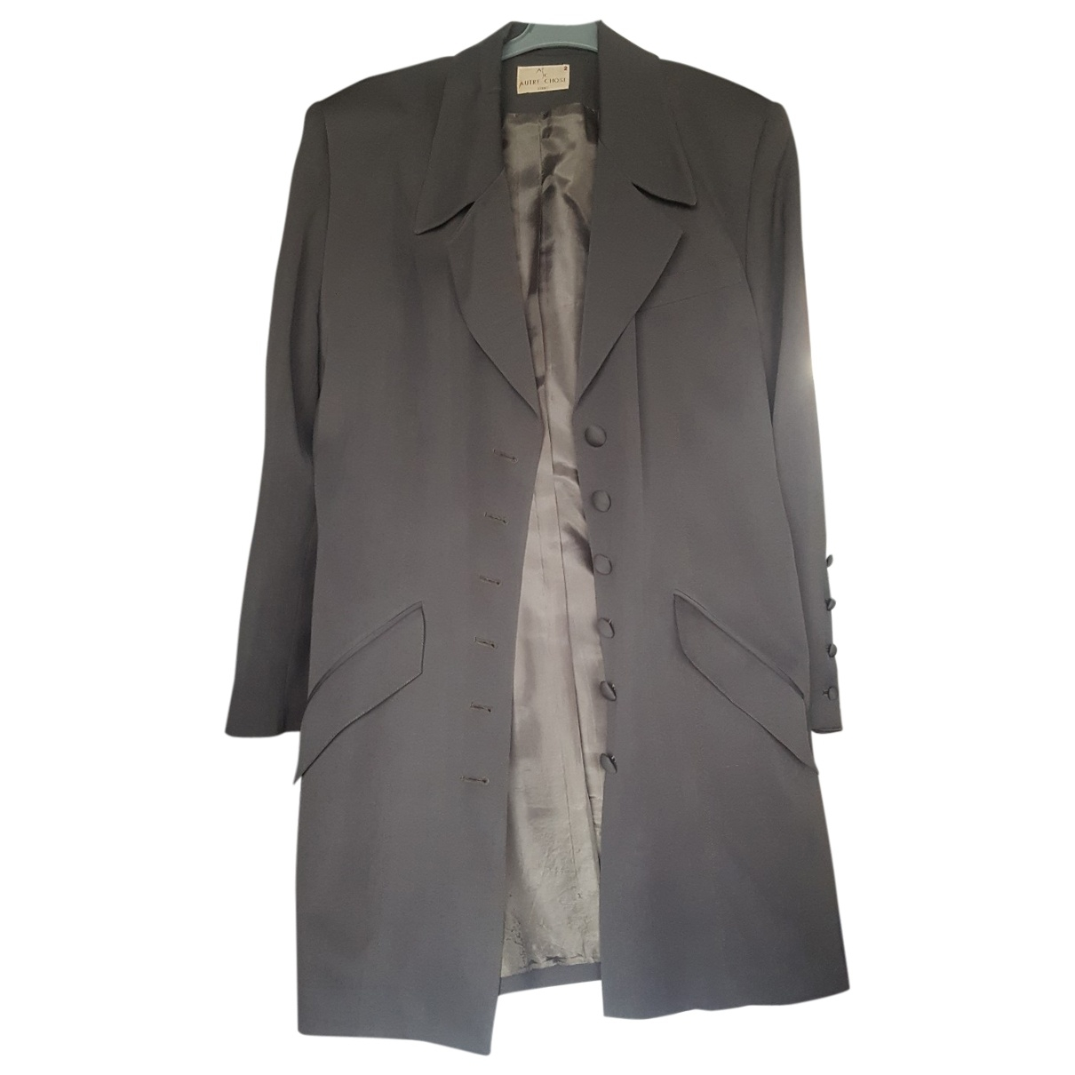 Non Signé / Unsigned \N Green Wool jacket for Women 40 FR