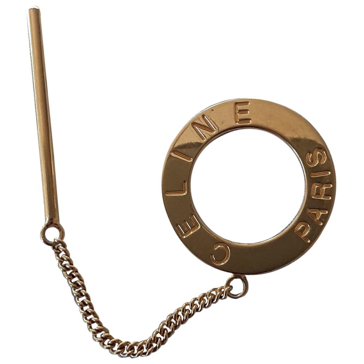 Celine \N Gold Metal Hair accessories for Women \N