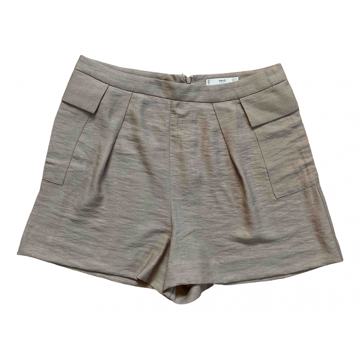 Mango \N Beige Shorts for Women 36 FR