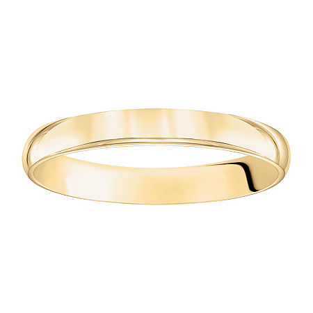 3MM 14K Gold Wedding Band, 4 1/2 , No Color Family