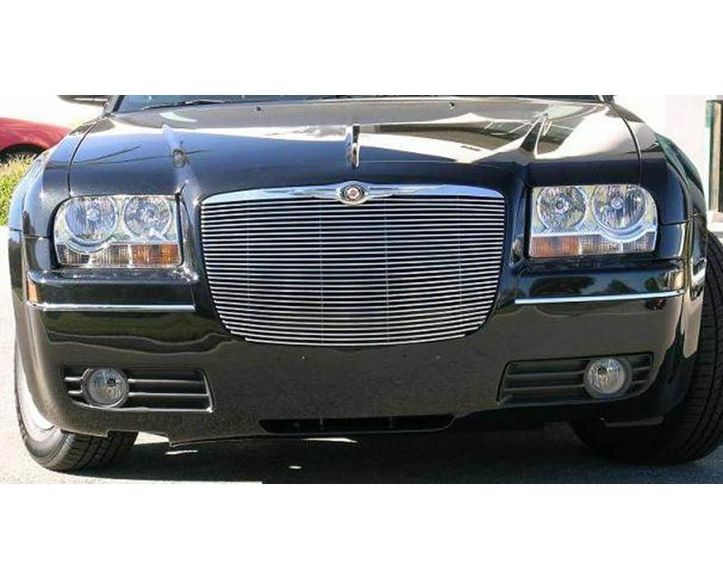2005-2010 Chrysler 300, 300C, SRT Billet Grille, Polished, 1 Pc, Replacement - PN #20472