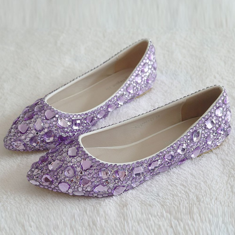 Ericdress Simple Rhinestone Low-Cut Plain Wedding Shoes