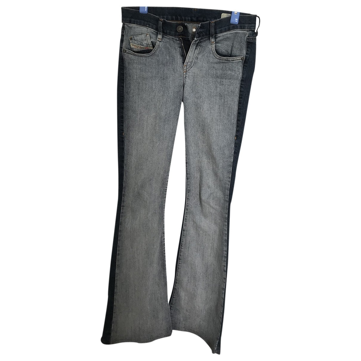 Diesel \N Blue Cotton - elasthane Jeans for Women 36 FR