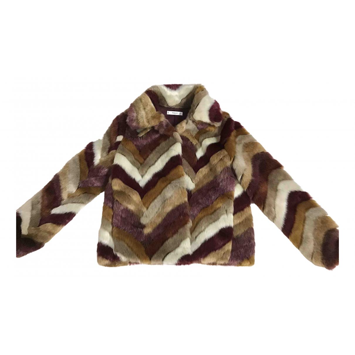Mango \N Multicolour Faux fur jacket for Women M International