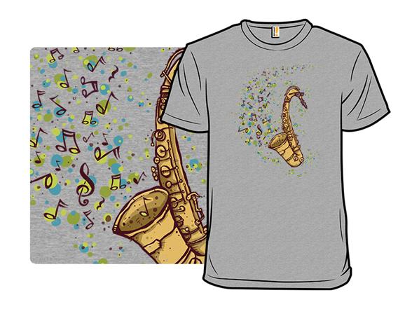 Addicted To Sax T Shirt