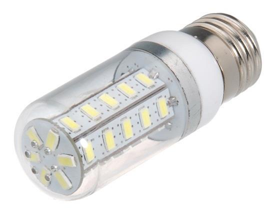 5W E27 36 x 5730 Cool White LED Corn Bulb