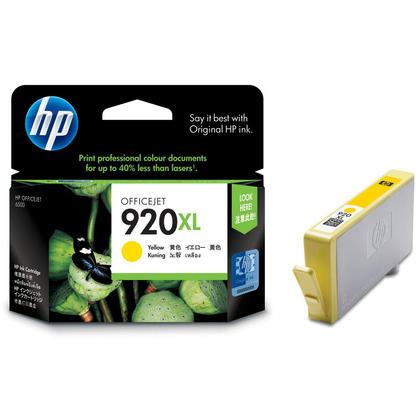 HP OfficeJet 6500 cartouche d'encre jaune originale à rendement élevé