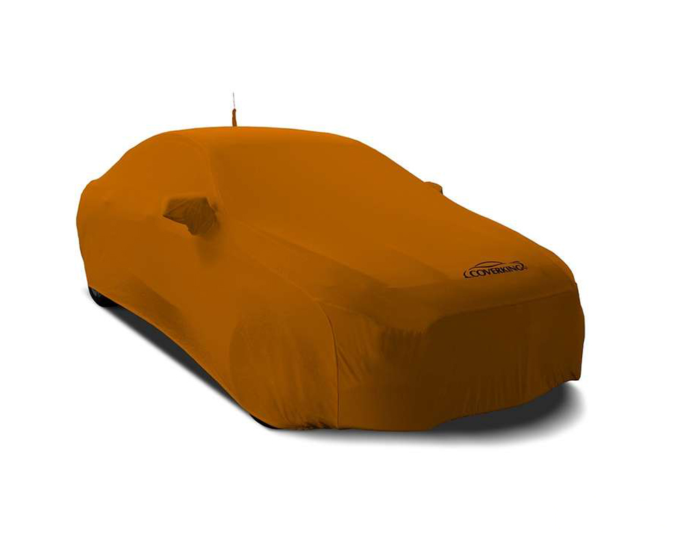 Coverking CVC3SS81ML1006 CVC3SS81 Satin Stretch Grabber Orange Custom Car Cover McLaren 570S w/o Wing 16-19
